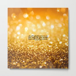 """A well adjusted... """"Alexander Hamilton"""" Inspirational Quote Metal Print"""