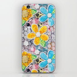 Paper Flower Power iPhone Skin