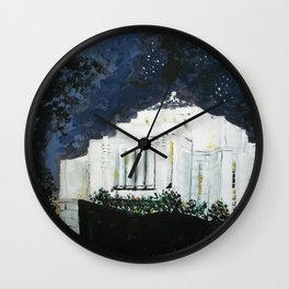Cardston Alberta Canada LDS Temple Wall Clock