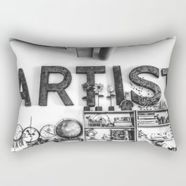 Artist Rectangular Pillow