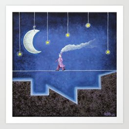 The Sleepwalker Art Print