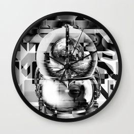 SpacedOut Wall Clock