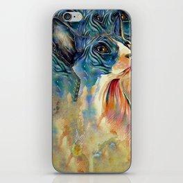 cat2 iPhone Skin