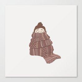 freezing Canvas Print