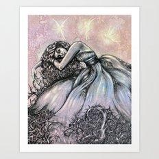bittersweet Tragedy  Art Print