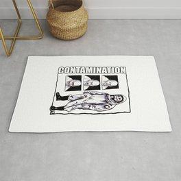 Contamination // I Know How You Feel Rug