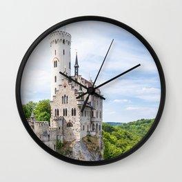 Lichtenstein castle Wall Clock