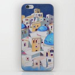 Memory of Santorini iPhone Skin