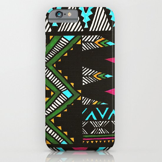Tribal Dark iPhone & iPod Case
