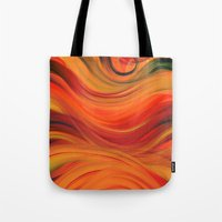 fabric Tote Bags featuring fabric by Cool-Sketch-Len