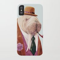 walrus iPhone & iPod Cases featuring Walrus by Animal Crew