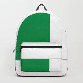 Italian flag-Italy,Italia,Italian,Latine,Roma,venezia,venice,mediterreanean,Genoa,firenze Backpack