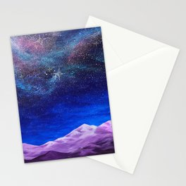 The Expanded Life Beyond, cosmic earth Stationery Cards