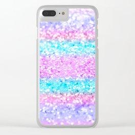 Unicorn Girls Glitter #15 #shiny #decor #art #society6 Clear iPhone Case