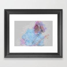 Rick Parfitt Framed Art Print