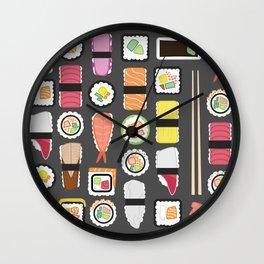 Sushi Time Wall Clock