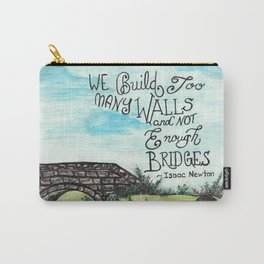 Building Bridges Carry-All Pouch