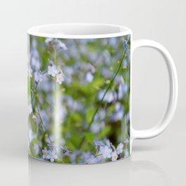 Forget-me-not Close up Coffee Mug