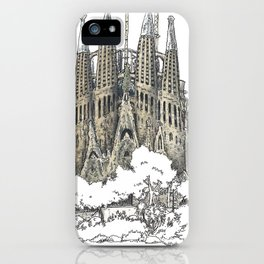 Sagrada Familia, Barcelona iPhone Case