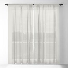 BM Balboa Mist Off White OC-27 - Trending Color 2019 - Solid Color Sheer Curtain