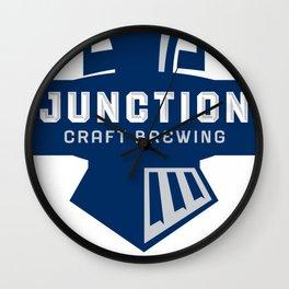 JUNCTION CRAFT BREWING Wall Clock
