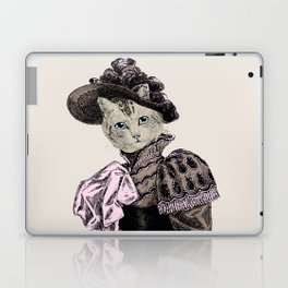 Pussycat Portrait    No. 2 of 2 from The Owl and the Pussycat Set Laptop & iPad Skin