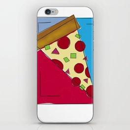 Geometric Pizza iPhone Skin