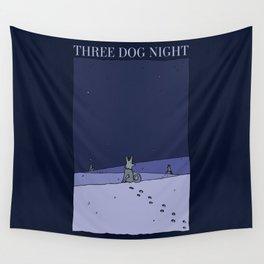 Three Dog Night - Winter Wall Tapestry