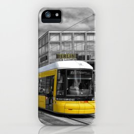 Berlin Alexanderplatz II iPhone Case