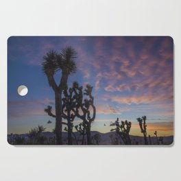 Sunset in Joshua Tree National Park Cutting Board