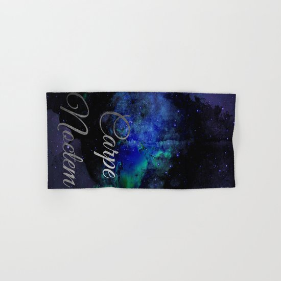 Carpe Noctem (Seize The Night) Hand & Bath Towel