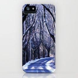 My Favorite Road - Winter iPhone Case