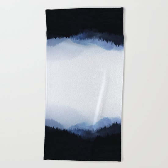 Woods 5  Beach Towel