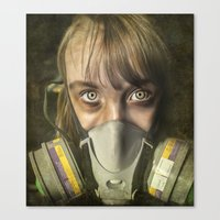 apocalypse now Canvas Prints featuring Apocalypse by Bruce Stanfield Photographer