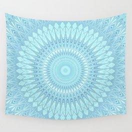 Ice Star Mandala Wall Tapestry
