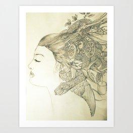 Cerebral Creativity Art Print