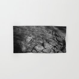 Under Water (Black and White) Hand & Bath Towel