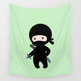 Tiny Ninja Wall Tapestry