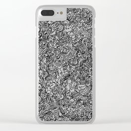 Frenzy Clear iPhone Case