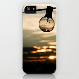 Unlit Sunset.  iPhone Case