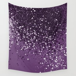 PURPLE Glitter Dream #1 #shiny #decor #art #society6 Wall Tapestry