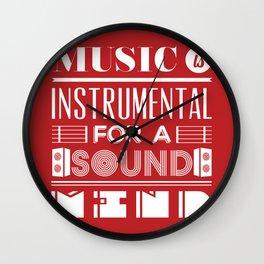 Music is instrumental  Wall Clock
