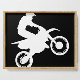 Motocross Serving Tray