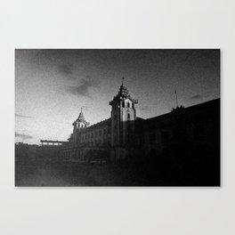 Yangon Train Station Canvas Print