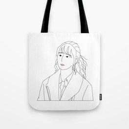 anxious girl Tote Bag