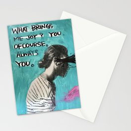 WHAT BRINGS YOU JOY? Stationery Cards