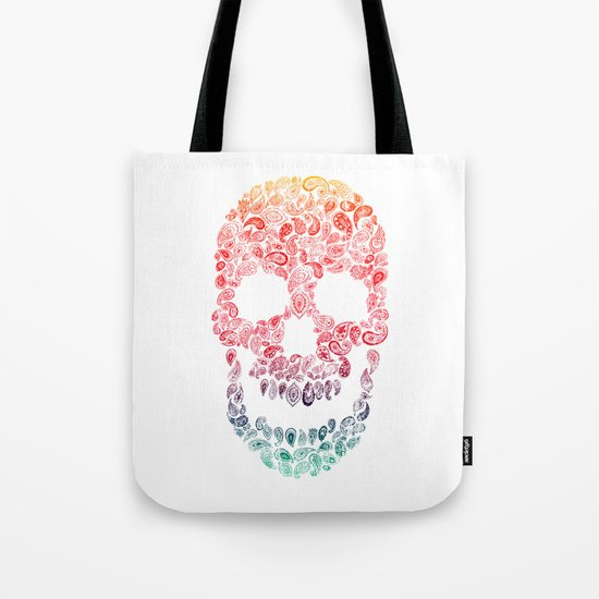 Death By Paisley Tote Bag