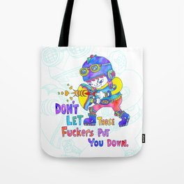 No Fuckers! Tote Bag