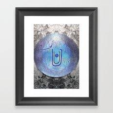 yoUniverse Framed Art Print