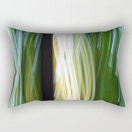 Flora Abstract Rectangular Pillow